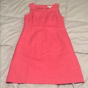 Coral/Salmon LOFT dress size 2P